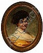 Edouard Cabane: Portrait of a young lady. Signed, Edouard Cabane, Click for value