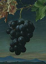 Harald Slott-Møller: Bunch of grapes, in the