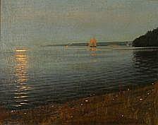 Harald Slott-Møller: Midsummer Eve, Køge Bay,