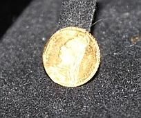 A British Fractional Yellow Gold Coin
