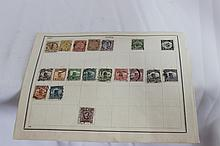 A Selection of Various Chinese Stamps,