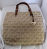 A Michael Kors Signature Tote Shoulder Bag oh 55cm