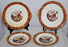 A Selection of Various 19th Century Staffordshire
