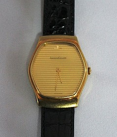 A Jaeger le Coultre Yellow Gold Gents Wristwatch, c 1970,