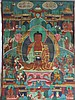 An Early 20th Century Sino Tibetan Thanka