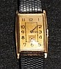 A Gents Manual Rose Gold Longines Gents Watch , c 1930