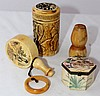 A Selection of Chinese Bone Snuff Bottles