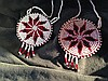 A Matched Pair of Vintage Tribal Glass Beaded Necklaces ,