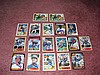 Texas Rangers Autograph 18 Card Team Lot
