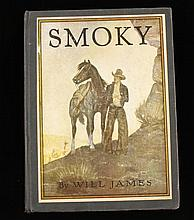 First Edition Smoky by Will James