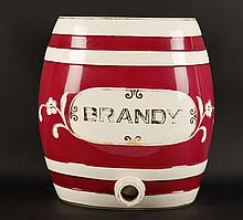 Ceramic Brandy Cask