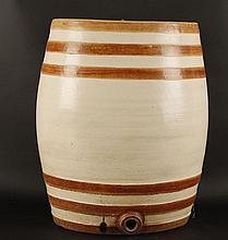 Antique Ceramic Cider Barrel
