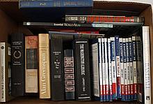 Boxed Lot of Aeronautical Books.
