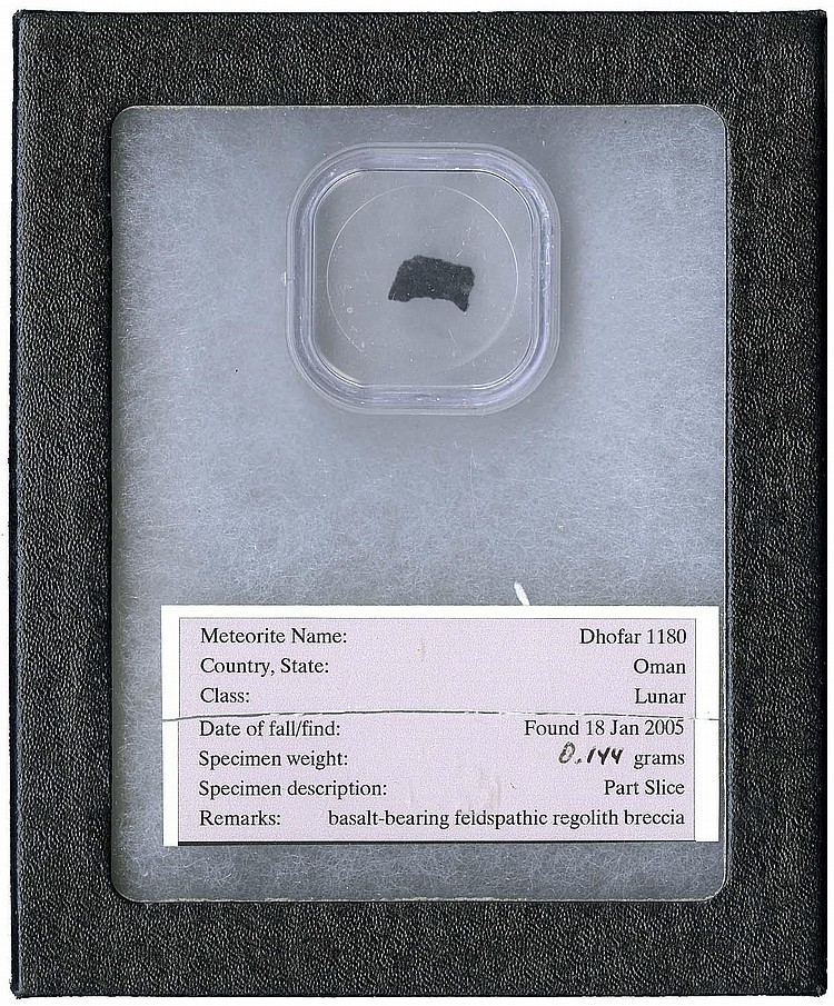 1998-2005 THREE METEORITE FRAGMENTS