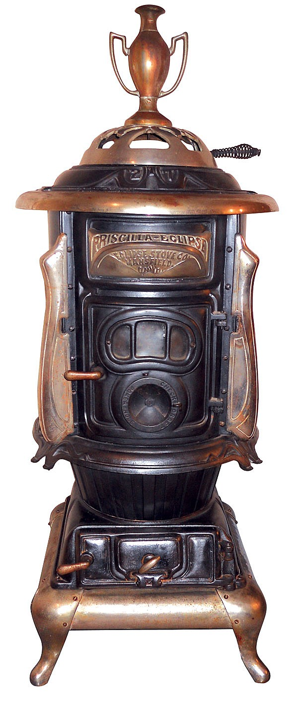 Victorian parlor stove,