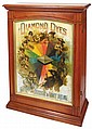 Country store Diamond Dyes cabinet,