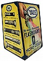 Advertising display cabinet, Yale Flashlight