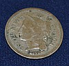1868 Nickel 3 Cent