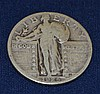 1925 US Standing Liberty Quarter