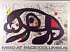 Joan Miro, For Pace/Columbus Ohio.