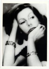 1979 HOYNINGEN-HUENE Photo Postcard GRETA GARBO