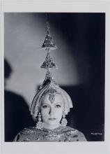 Vintage C.S. BULL Photo Postcard GRETA GARBO Mata Hari
