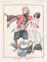 LA VIE PARISIENNE 1927 Risque Print Nude with Pirate