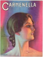1920 Sheet Music Deco Girl Art by ROLF ARMSTRONG