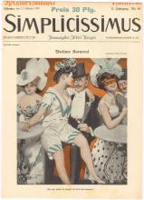 SIMPLICISSIMUS 1907 German Mag Cover Berlin Revelry