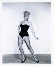 BETTY GRABLE Original Pinup Photo Her Famous Long Legs