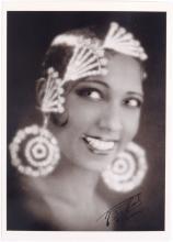 Vintage Postcard JOSEPHINE BAKER France, c1930
