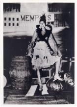 Vintage Postcard JOSEPHINE BAKER La Revue Negre