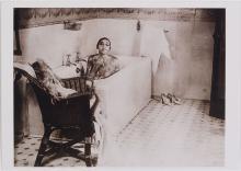 Vintage Risque Postcard JOSEPHINE BAKER In Bathtub