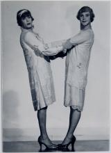 Greeting Card SOME LIKE IT HOT Tony Curtis and Jack Lemmon