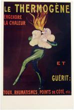 Vintage 1969 Giant Postcard LE THERMOGENE Firebreather