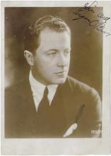 EUGENE O'BRIEN c1915 Hand Signed Photo Silent Film Star