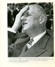 Impatient CHARLES DE GAULLE Vintage 1960 AP Photo