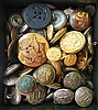 Assorted Vintage Fire Dept and Military Buttons