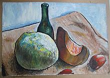 Russian Oil Painting, Still Life