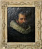 After Velasquez Oil on Canvas, Portrait of Man.