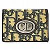 Vintage Christian Dior Trotter Pattern Card Case