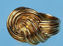 18k Yellow Gold Knot Ring