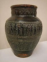 Terra-cotta Vase with Biblical Scenes