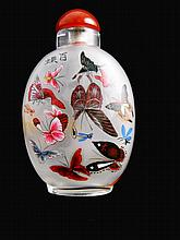 Chinese Hand Painted Snuff Bottle