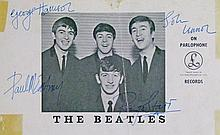 Original Beatles Autographs - 1963