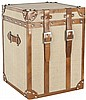 Alex Leather Strap Square Trunk