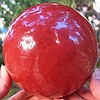 Huge Red Smelted Quartz Sphere