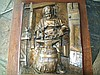 PP0824 19th c. Bronze Plaque Blacksmith, Signed.