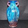 Dale Tiffany Vase Amphora Aventurine Favrile.