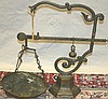 IRON & BRASS SCALE, C. 1900